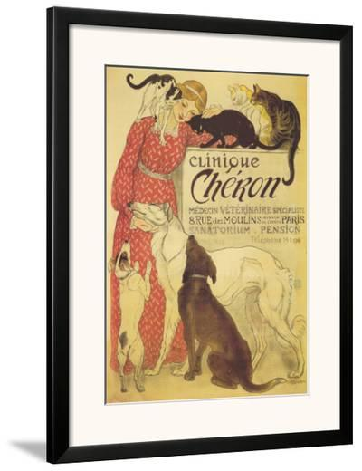 Clinique Cheron, c.1905-Th?ophile Alexandre Steinlen-Framed Art Print