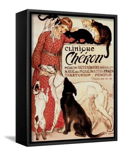 Clinique Cheron, c.1905-Th?ophile Alexandre Steinlen-Framed Canvas Print