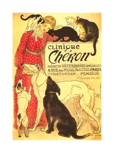 Clinique Cheron, Vet--Art Print