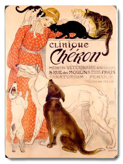 Clinique Cheron--Wood Sign