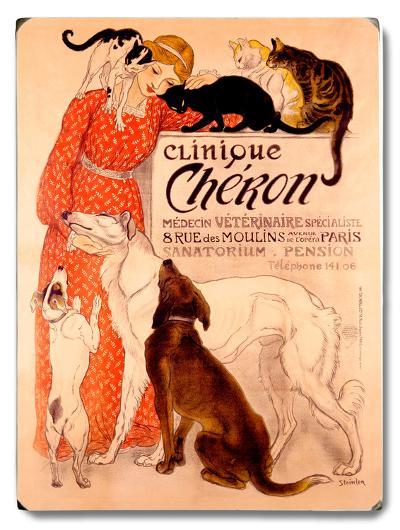 Clinque Cheron--Wood Sign