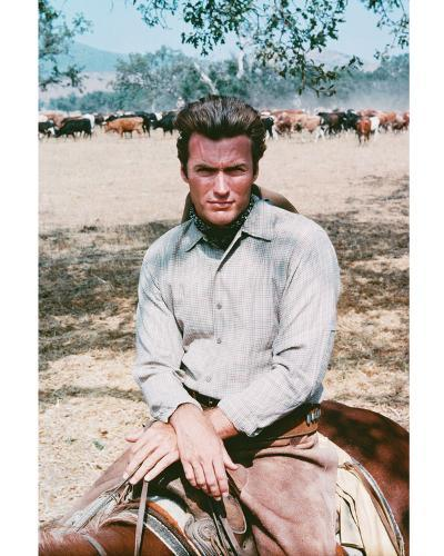 Clint Eastwood - Rawhide--Photo