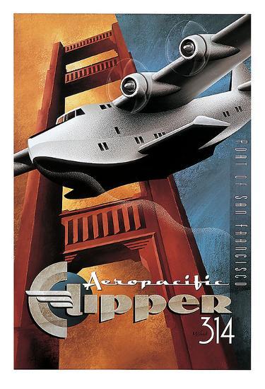 Clipper 314-Michael L^ Kungl-Art Print