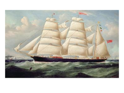 Clipper Barque 'Clendovey'-Richard B^ Spencer-Giclee Print