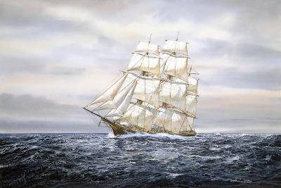Clipper Ship-Jack Wemp-Giclee Print