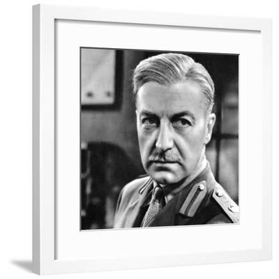 Clive Brook, English Actor, 1934-1935--Framed Giclee Print