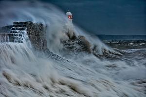 Storm Frank Hits Porthcawl Bridgend by Clive Horton