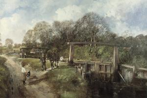 Old Lock, Flatford, Suffolk by Clive Madgwick
