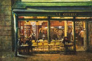 The Nighthawks, St Germain by Clive McCartney