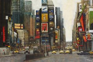 Times Square, New York by Clive McCartney