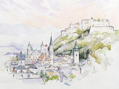 Salzburg Sunrise by Clive Metcalfe