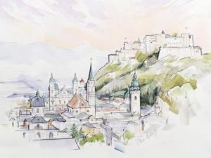 Salzburg Sunrise by Clive Metcalfe