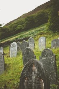 Gravestones in a Churchyard by Clive Nolan