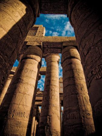 Great Hypostyle Hall at Karnak Temple, Egypt