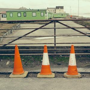 Three Red Cones by Clive Nolan