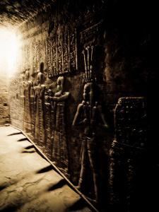 Tunnels at the Temple of Dendera, Egypt by Clive Nolan