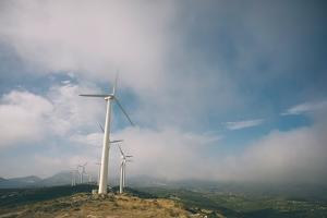 Wind Turbine by Clive Nolan
