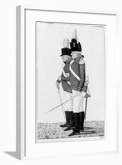 Clive of India and Major Skey, 1798-John Kay-Framed Giclee Print