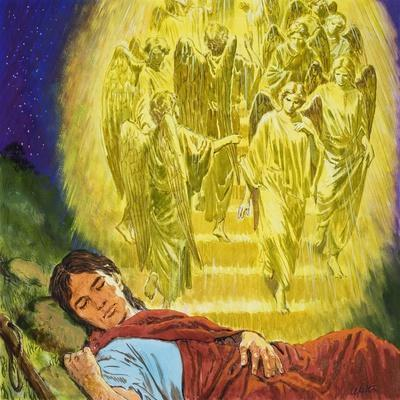 Strange Dreams from the Bible: Jacob's Ladder