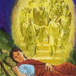 Strange Dreams from the Bible: Jacob's Ladder by Clive Uptton