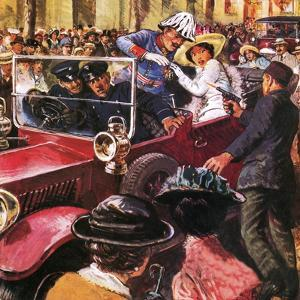 The Assassination of Archduke Franz Ferdinand by Clive Uptton