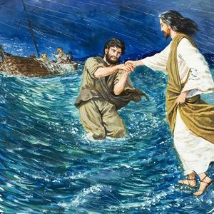 The Miracles of Jesus: Walking on Water by Clive Uptton