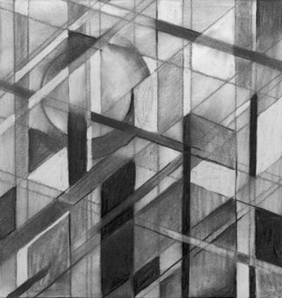 A Charcoal Study for an Abstract Painting by clivewa