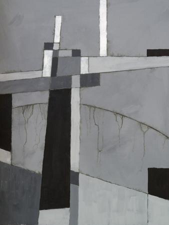 A Monochrome Abstract Painting by clivewa