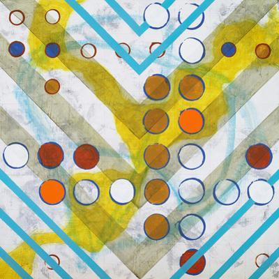 An Abstract Painting, Based on a Grid by clivewa