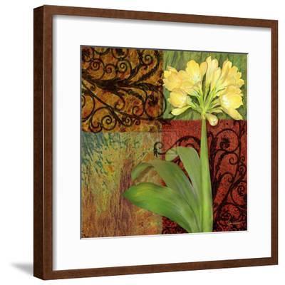 Clivia II-Jan Sacca-Framed Art Print