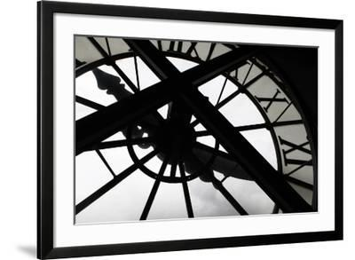 Clock at Musee D'Orsay, Paris, France-Kymri Wilt-Framed Photographic Print