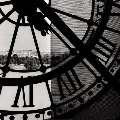 Clock Mus?e d'Orsay I--Art Print