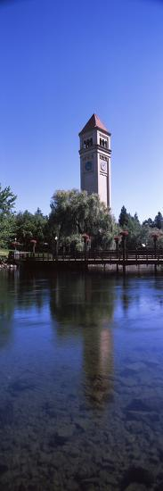 Clock Tower at Riverfront Park, Spokane, Washington State, USA--Photographic Print