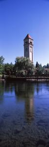 Clock Tower at Riverfront Park, Spokane, Washington State, USA
