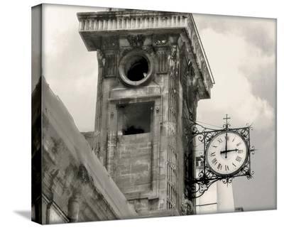 Clock Tower-Judy Mandolf-Stretched Canvas Print