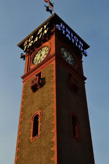 Clock Tower-Brian Moore-Photographic Print