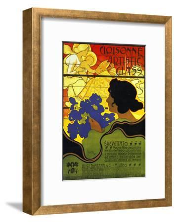 Cloisonne Artists 1899-Adolfo Hohenstein-Framed Art Print