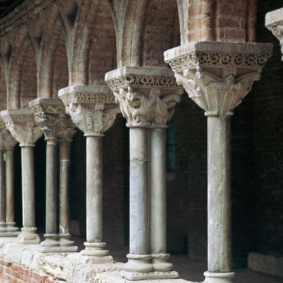 Cloister at Mossaic, 11th century-Unknown-Giclee Print