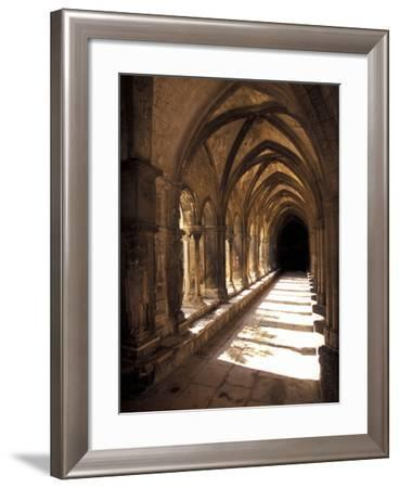 Cloister Detail, Arles, Cloitre St-Trophime, Bouches-Du-Rhone, Provence, France-Walter Bibikow-Framed Photographic Print