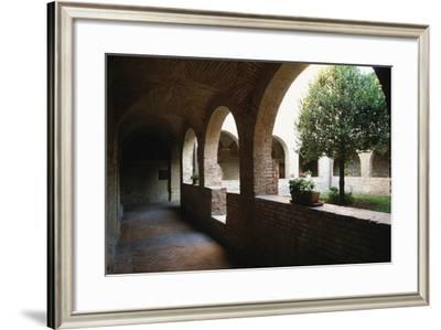 Cloister of Convent of St Francis of Mount (Monteripido House)--Framed Photographic Print