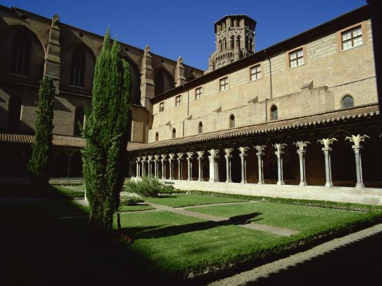 Cloister of Le Couvent Des Augustins, 14th C, Augustins Museum, Toulouse, Midi-Pyrenees, France-Rawlings Walter-Photographic Print