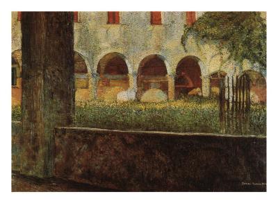 Cloister of S. Onofrio-Umberto Boccioni-Giclee Print