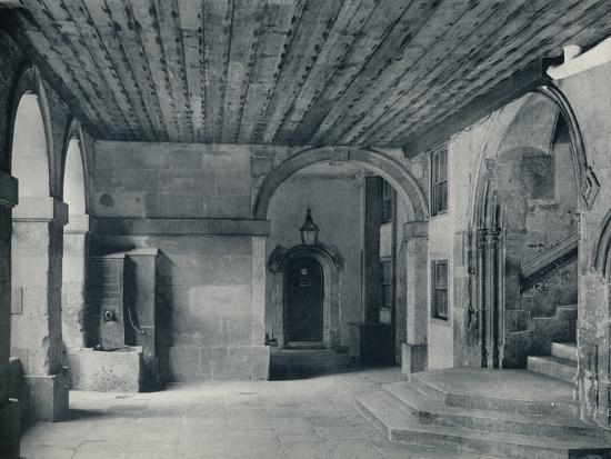 'Cloister Pump and Hall Steps', 1926-Unknown-Photographic Print