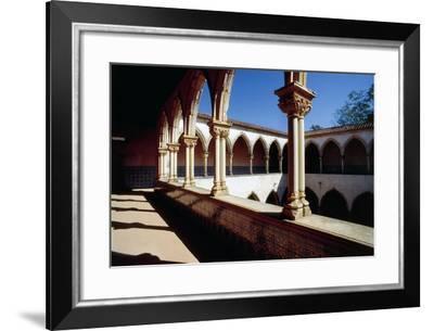 Cloister--Framed Giclee Print