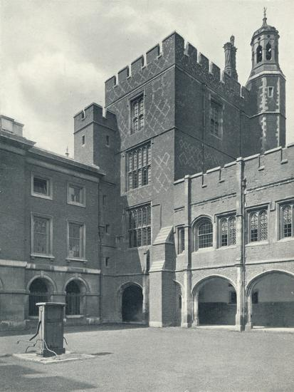 'Cloisters and College Library', 1926-Unknown-Photographic Print