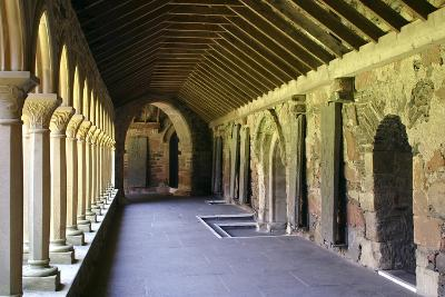 Cloisters of Iona Abbey, Argyll and Bute, Scotland-Peter Thompson-Photographic Print