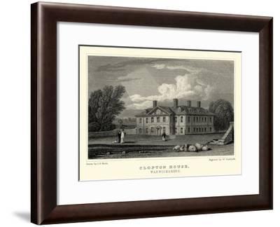 Clopton Hall-J.p. Neale-Framed Art Print