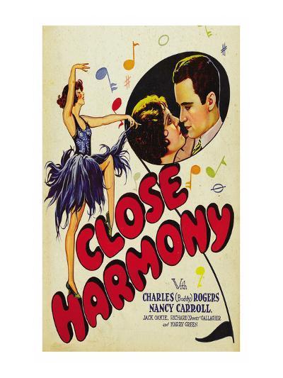 Close Harmony--Art Print