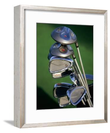 Close-up Image of Golf Clubs