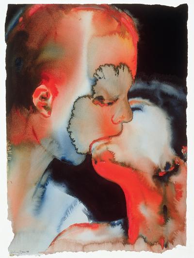 Close-Up Kiss, 1988-Graham Dean-Giclee Print